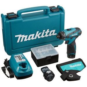 マキタ(Makita) 充電式ドライバドリル 10.8V 1.3Ah バッテリー2個付き DF030DWX|tlinemarketing