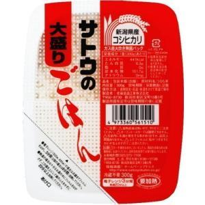 佐藤食品 サトウのごはん 新潟県産コシヒカリ大盛 300g×24パック入り tlinemarketing