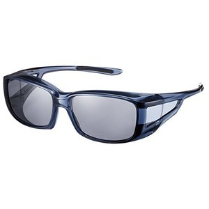 SWANS(スワンズ) 偏光 サングラス メガネの上からかける オーバーグラス OG4-0051 SCLA スモーククリア|tlinemarketing