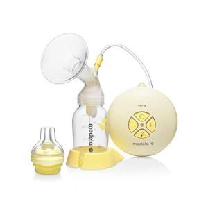メデラ 搾乳機 電動 スイング 搾乳機 (電動・シングルポンプ) コンパクトで軽量 4つのボタンで簡単操作 母乳育児をサポート|tlinemarketing