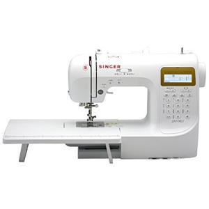 シンガー(SINGER) コンピュータミシン 文字縫い機能付(ひらがな・数字・アルファベット・漢字) ハードケース・フットコントローラー・ワイドテーブ|tlinemarketing