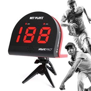 Net Playz マルチスポーツ パーソナルスピードレーダーディテクタガン メジャーベースボールピッチング バットスイングとサッカーシューティングス|tlinemarketing