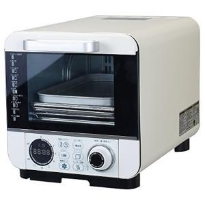 ドウシシャ オーブントースター 焼き芋調理 油不使用で揚げ物 温度調節機能付 コンパクトタイプ 10種類マイコン式 ピエリア COR-100B|tlinemarketing