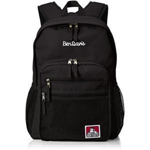 [ベンデイビス] リュック XLサイズ メッシュポケット リュックサック 通勤通学に最適です BDW-9200 ブラック|tlinemarketing