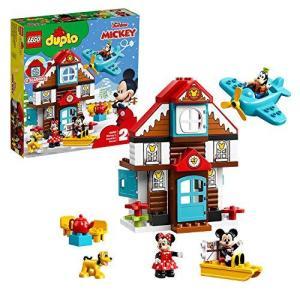 レゴ(LEGO) デュプロ ミッキーとミニーのホリデーハウス 10889 ブロック おもちゃ 女の子|tlinemarketing