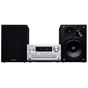 パナソニック ミニコンポ FM/AM 2バンド Bluetooth対応 ハイレゾ音源対応 シルバー SC-PMX90-S|tlinemarketing