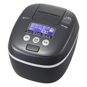 タイガー魔法瓶(TIGER) 炊飯器 5.5合 圧力IH 土鍋コーティング 極うま機能付き 炊きたて モスブラック JPC-G100KM|tlinemarketing