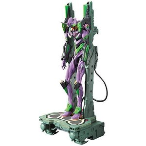 RG エヴァンゲリオン 汎用ヒト型決戦兵器 人造人間エヴァンゲリオン初号機DX 輸送台セット 色分け済みプラモデル|tlinemarketing