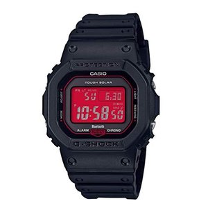 CASIO (カシオ) 腕時計 G-SHOCK(Gショック)電波ソーラー「Black and Red Series」 GW-B5600AR-1A メン|tlinemarketing