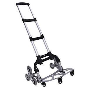 M.ZONE (10つの車輪) キャリーカート 階段 10輪 台車 折りたたみ 軽量 段差 4輪360度回転 静音 大型タイヤ バッグ付け 高さ調節|tlinemarketing