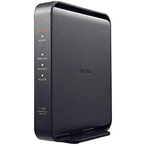 BUFFALO WiFi 無線LAN ルーター WSR-1166DHPL2/N 11ac ac1200 866+300Mbps IPv6対応 デュアル|tlinemarketing