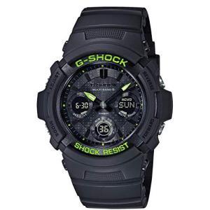 [カシオ] 腕時計 ジーショック Black and Yellow Series AWG-M100SDC-1AJF メンズ ブラック|tlinemarketing