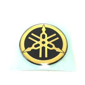 ヤマハ 音叉マーク エンブレム 50mm ビトロ ゴールド
