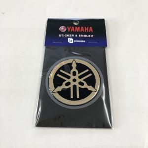 ヤマハ 音叉マーク エンブレム 60mm ビトロ ゴールド 2枚入り