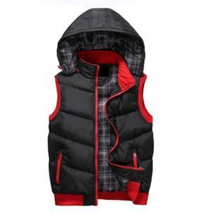 中綿ベスト メンズ レディース カップル ベスト ショート丈 アウター フード付き 取り外し ショートベスト 厚手 防寒 暖かい あったか おしゃれ 通学 冬物 新作|tman