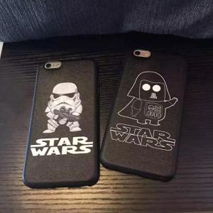 STAR WARS スターウォーズ iPhone6ケース iPhone6sケース iPhone6Plus/6sPlusケース アイフォン6sカバー TPUケース|tman