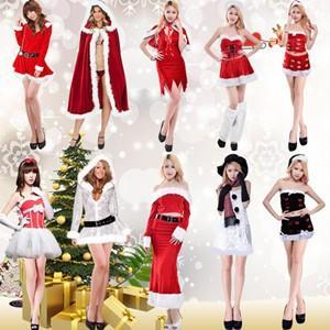 クリスマス 衣装 サンタ コスプレ サンタクロース 変装 聖夜パーティードレス レディース サンタ服 演出服 仮装 コスチューム パーティードレス tman