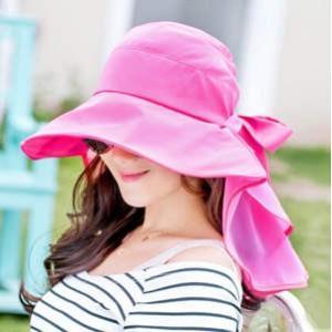 帽子 つば広ハット レディース 紫外線対策 UVカット サンバイザー リボン付 調節可能 折り畳み 小顔効果 日よけ 光沢感 無地 おしゃれ 春夏 新作 送料無料|tman