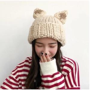 ニット帽子 帽子 レディース ニットキャップ ぼうし 小顔効果 あったか 暖かい 防寒 可愛い アウトドア 秋物 冬物 2018 新作 送料無料|tman