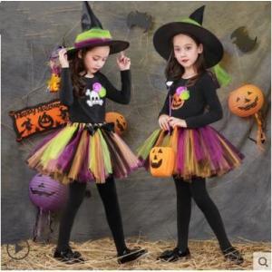 ハロウィン 衣装 子供 女の子 キッズ 仮装 子供服 悪魔 小悪魔 巫女 ハロウィーン Halloween コスプレ コスチューム 魔女 魔法使い 人気 悪の女王様 送料無料|tman