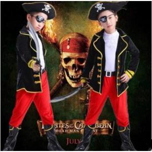 ハロウィン 衣装 子供 男の子 コスプレ 子供服 海賊 パイレーツ キッズ コスチューム 仮装 Halloween ハロウィーン パーティーグッズ 演出服 送料無料|tman
