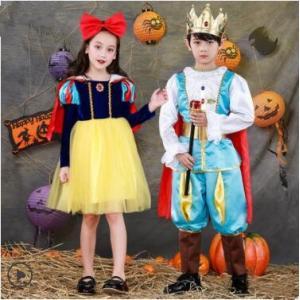 ハロウィン 衣装 子供 女の子 男の子 キッズ 仮装 子供服 ハロウィーン Halloween コスプレ コスチューム 白雪姫 王子 演出服 人気 パーティー 送料無料|tman