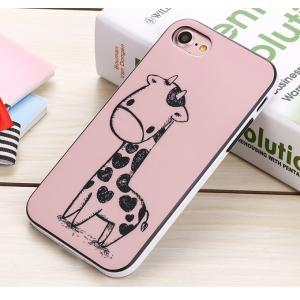 iPhone7ケース iPhone7 Plusケース 可愛い鹿 アイフォン7カバー iPhone7プラスカバー 送料無料 ソフトケース|tman