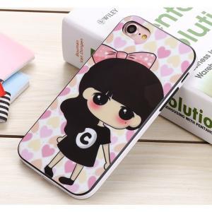iPhone7ケース iPhone7 Plusケース 可愛い女の子 アイフォン7カバー iPhone7プラスカバー 送料無料 ソフトケース|tman