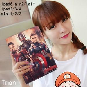 キャプテンアメリカ Captain America superman スーパーマン iPad AIR2 iPad AIRケース カバー 人気アイパッドケース カバー|tman