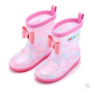 レインブーツ キッズ 女の子 男の子 長靴 レインシューズ アウトドア 4色展開 雨具 子供用 梅雨 防水 蝶結び付 ハート/星柄 超可愛い 滑り止め 春夏 新作|tman