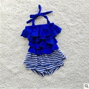 水着 ビキニ ワンピース型 子ども 子供 女の子 キッズ スイミングウェア タンキニ 可愛い プリント 海水浴 温泉 ビーチ プール 夏物 新作 送料無料|tman
