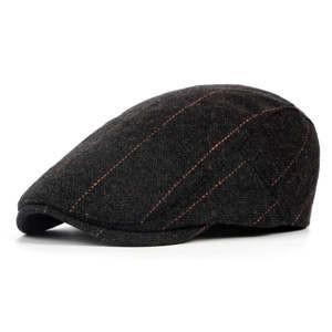 帽子 ハット ハンチング ベレー帽 メンズ  ぼうし ファッション チャック柄 イギリス風 日よけ帽子 調節可能 秋冬 秋物|tman