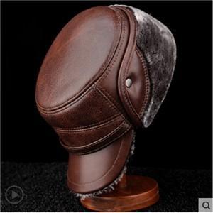 毛皮帽子 メンズ パイロット帽子 メンズ キャスケット ワークキャップ つば付き 帽子 メンズ帽子 冬 新作 男女兼用アウトドア 防水|tman