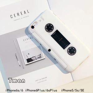 カセットテープ型 iPhone6/6sケース iPhone6Plus/6sPlusケース iPhone5/5s/SEケース カバー 携帯ケース アイフォンケース|tman