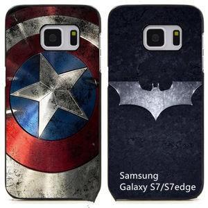 キャプテンアメリカ Captain America Samsung Galaxy S7 Edgeケース Galaxy S7カバー ギャラクシーS7エッジケース Galaxy S7ケース スマホケース|tman