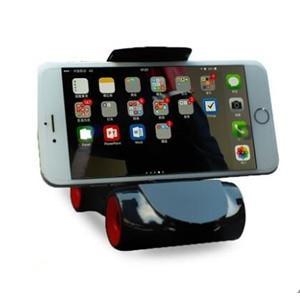 送料無料 ホルダー ショート スマホ/携帯電話 iPhone7/8/8Plus もOK! 360度 万能回転 軽量 車載用品  便利 簡単|tman|02