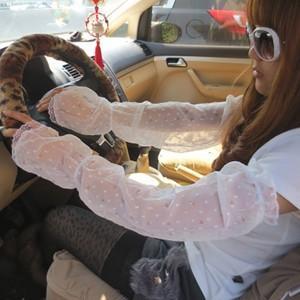 アームカバー UVアームカバー UVカット シフォンアームカバー 手袋 日焼け対策 UV手袋 レース アウトドア 日焼け止め 紫外線防止 通気性 送料無料|tman