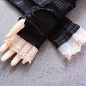 アームカバー UVアームカバー UVカット 涼しい ロング丈 手袋 日焼け対策 UV手袋 アウトドア 日焼け止め 紫外線防止 通気性 薄手 送料無料|tman