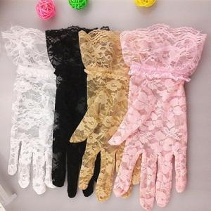 手袋 UV手袋  UVカット 涼しい レース手袋 日焼け対策 オシャレ アウトドア 日焼け止め 紫外線防止 通気性 薄手 送料無料|tman|02