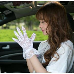 手袋 UV手袋  UVカット 涼しい レース手袋 日焼け対策 オシャレ アウトドア 日焼け止め 紫外線防止 通気性 薄手 送料無料|tman|03