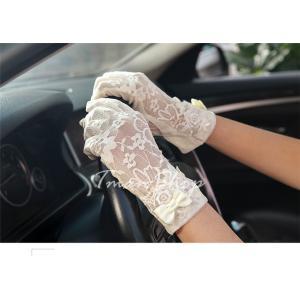 手袋 UV手袋  UVカット 涼しい レース手袋 手ぶくろ ショート手袋 日焼け対策 スマホ手袋 アウトドア 日焼け止め 紫外線防止 通気性 薄手 夏 送料無料|tman|04
