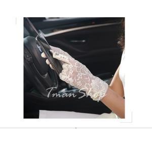 手袋 UV手袋  UVカット 涼しい レース手袋 手ぶくろ ショート手袋 日焼け対策 スマホ手袋 アウトドア 日焼け止め 紫外線防止 通気性 薄手 夏 送料無料|tman|05