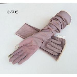 手袋 UV手袋  UVカット 涼しい アームカバー 手ぶくろ ロング手袋 日焼け対策 スマホ手袋 アウトドア 冷感 日焼け止め 紫外線防止 通気性 薄手 夏|tman|05