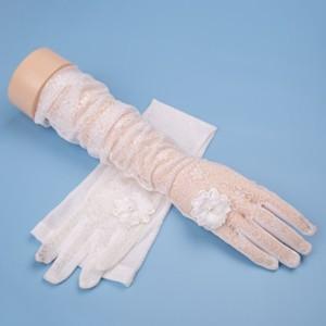 手袋 UV手袋  UVカット 涼しい アームカバー 手ぶくろ レース手袋 ロング手袋 日焼け対策 アウトドア 冷感 日焼け止め 紫外線防止 通気性 薄手 夏 tman