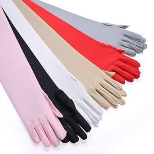 2点セット 手袋 UV手袋  UVカット 涼しい アームカバー 手ぶくろ ロング手袋 日焼け対策 アウトドア 冷感 日焼け止め 紫外線防止 通気性 薄手 夏|tman