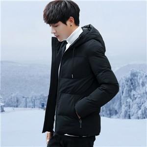 中綿コート メンズ ダウン風ジャケット ショートコート ショート丈 ジャケット 厚手 暖かい 細身 無地 通学 カジュアル 韓国風 アウター 防寒|tman