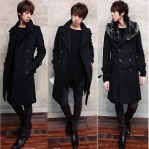 コート メンズ チェスターコート ウールコート ファー襟 アウター カジュアル シンプル ビジネスコート ロングコート ダブルボタン メンズファッション 紳士服 |tman