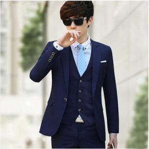 4点セット スーツ メンズ ジャケット/シャツ/ベスト/ズボン ビジネス フォーマル 1ツボタン スリム ウォッシャブル パーティー 成人式 就活 紳士 冠婚葬祭 事務|tman