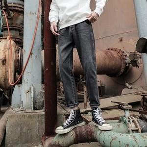 デニムパンツ メンズ カジュアルパンツ ゆったり おしゃれ 通学 冬物 秋物 新作 Tman 送料無料|tman