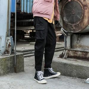 カーゴパンツ ワークパンツ メンズ カジュアルパンツ ゆったり おしゃれ 通学 秋物 冬物 新作 Tman 送料無料|tman
